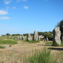 The mystical Carnac stones alignment
