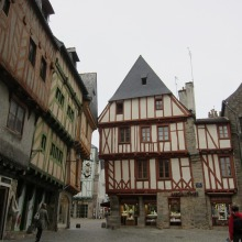 Old Town of Vannes, France