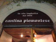 Cantina Piemontese is located at Via Laghetto 2, Milan